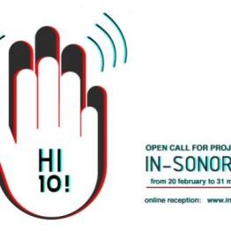 Convocatoria de proyectos para IN-SONORA 10