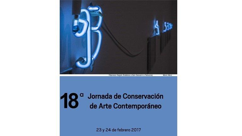 18ª Jornada de Conservación de Arte Contemporáneo. En el Museo Reina Sofía, los días 23 y 24 de febrero