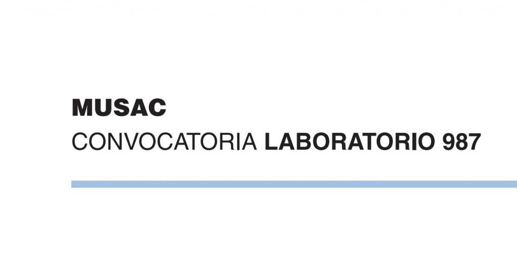 Laboratorio 987. Programa permanente de ayudas a la producción y difusión de la creación y la cultura contemporáneas convocado por el MUSAC
