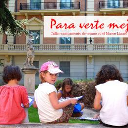 Para verte mejor. 10ª edición del campamento de verano para niños del Museo Lázaro Galdiano