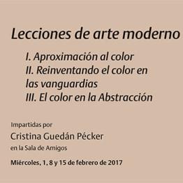 Lecciones de arte moderno. Curso monográfico para miembros de la Real Asociación de Amigos del Museo Reina Sofía