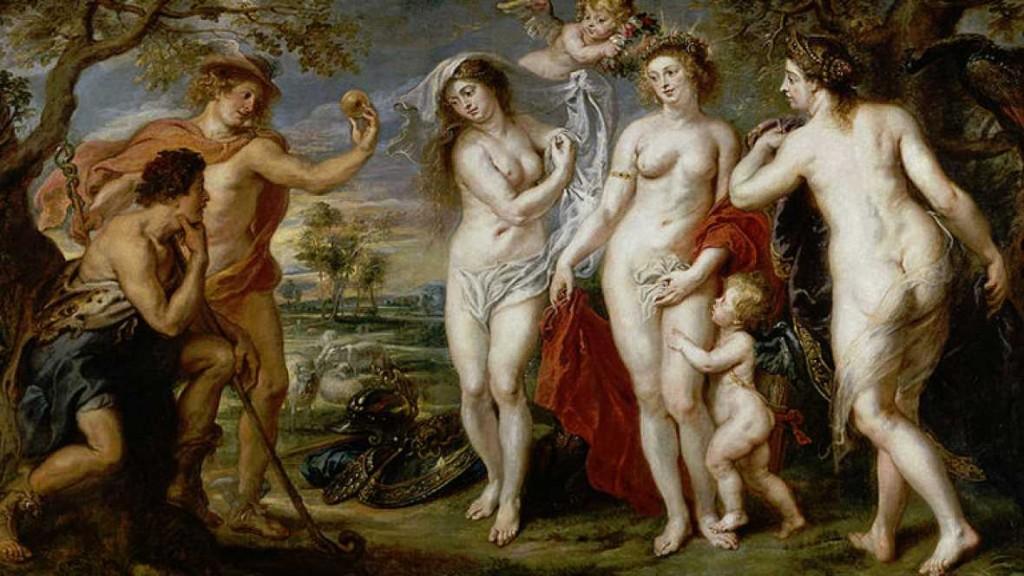 Rubens. El juicio de París
