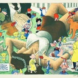 Las palabras y las imágenes chocan: ¿Qué %@&*! pasó con los cómics?