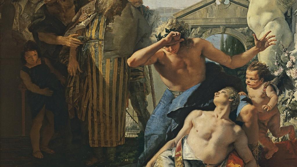 La muerte de Jacinto, de Giambattista Tiepolo. Conferencias en el Museo Nacional Thyssen-Bornemisza, el 19 de diciembre