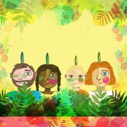 La tribu verde. Taller de Navidad en el MUSAC