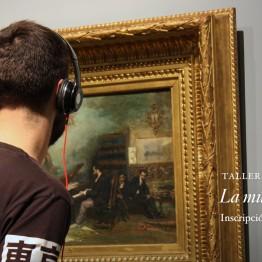 La música en tus ojos. Taller para jóvenes en el Museo del Prado