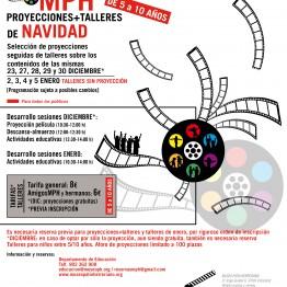 CinemaMPH: proyecciones y talleres de Navidad en el Museo Patio Herreriano