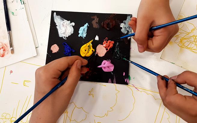 Escuela de arte. Talleres de verano para niños y jóvenes en el Museo Picasso de Málaga