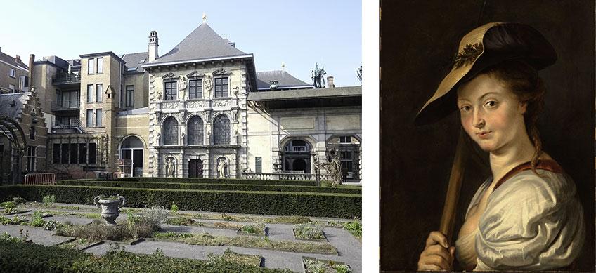 Casa de Rubens (Rubenshuis) y Retrato de Isabella Brant