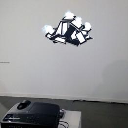 Laramascoto. Serie más madera, 2014-2017. Galería Rafael Pérez Hernando (Madrid)