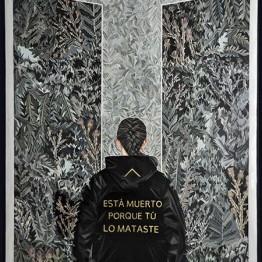 Mariajosé Gallardo. Antesala, 2017. La Gran (Valladolid)