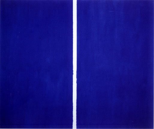 Barnett Newman. Onement VI