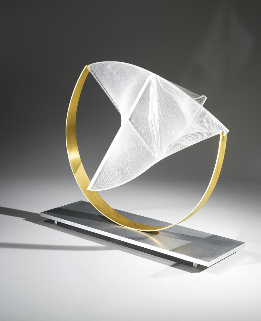 Naum Gabo. Construction in space: Suspended, 1965