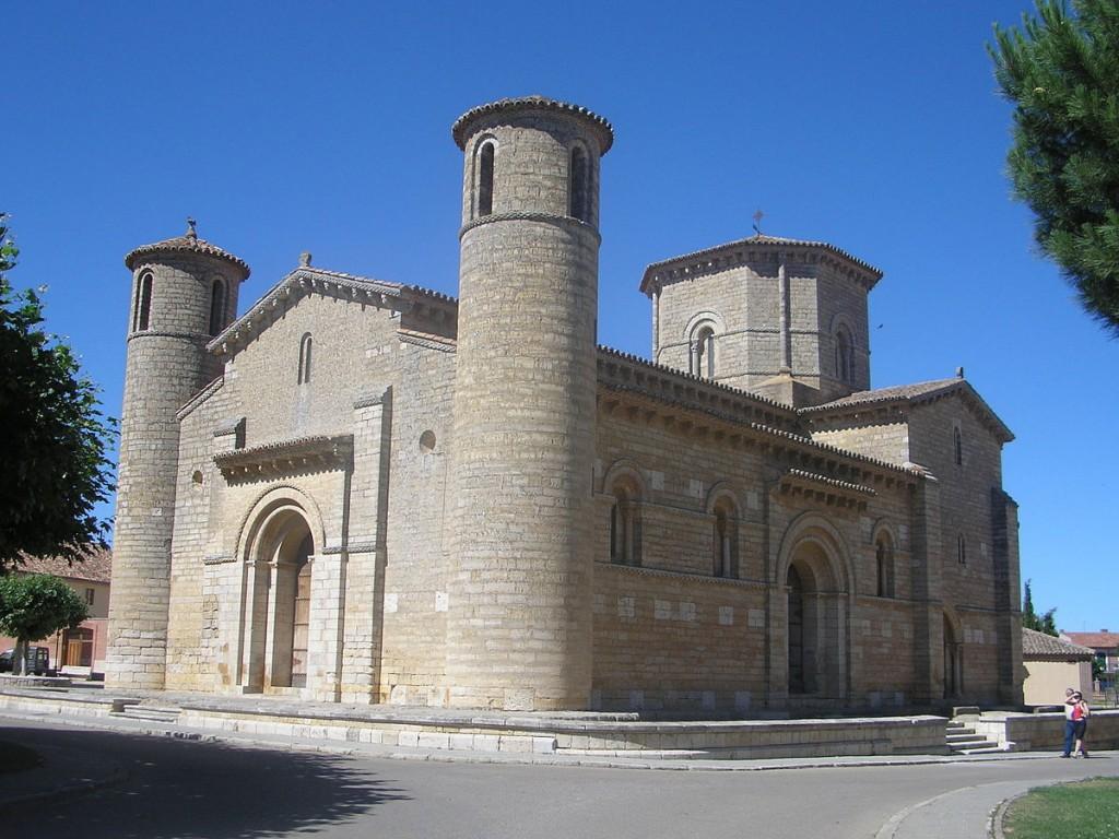 Exterior de la iglesia de san Martín de Tours, Frómista