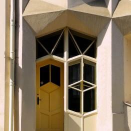 Apartamentos Hodek. Josef Chochol, 1913-1914. Praga