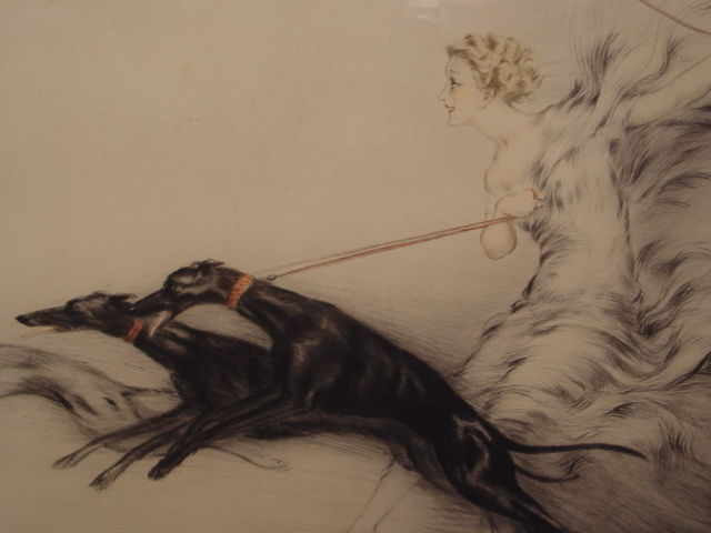 Louis Icart. Speed, 1927