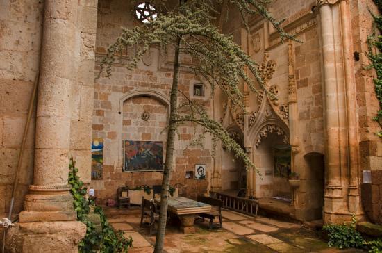 Ayllón. Interior de San Juan Evagelista