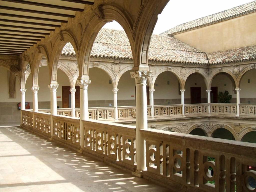 Patio interior del Palacio de Jabalquinto