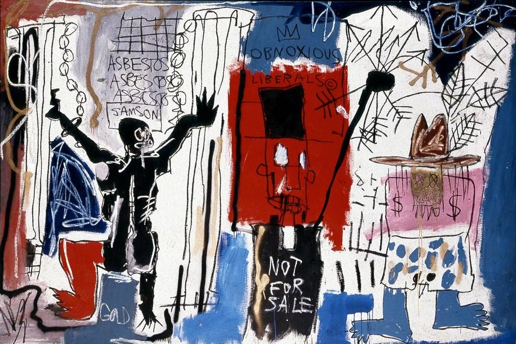 Basquiat. Asquerosos liberales, 1982
