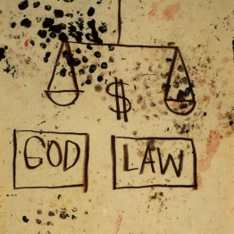 Basquiat. God, Law, 1981