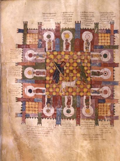 Beato de Liébana. Comentario del Apocalipsis, 968. Morgan Library, Nueva York