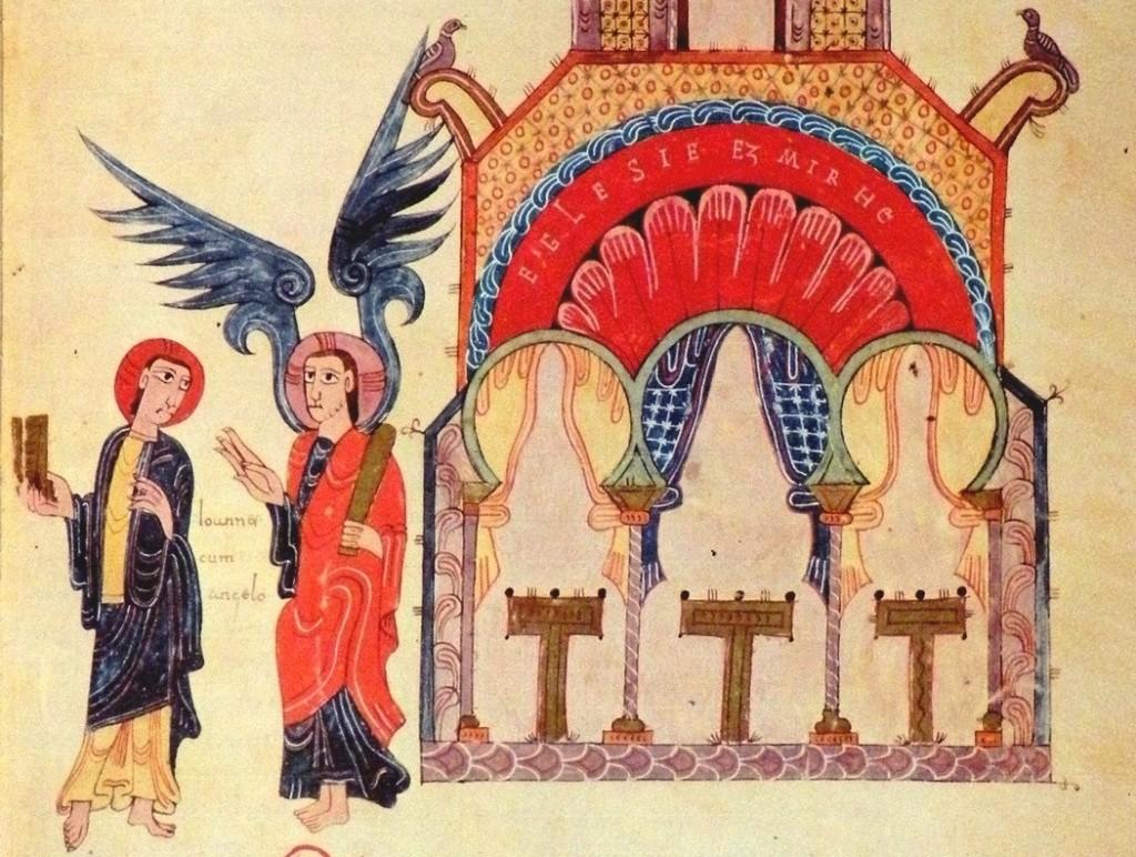 Beato de Gerona, 975. Archivo de la Catedral de Gerona