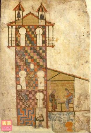 Beato de Tábara. Archivo Histórico Nacional