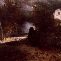 Böcklin. Cabalgada o El otoño de la muerte, 1871