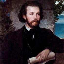 Böcklin. Karl Wallenreiter, 1861