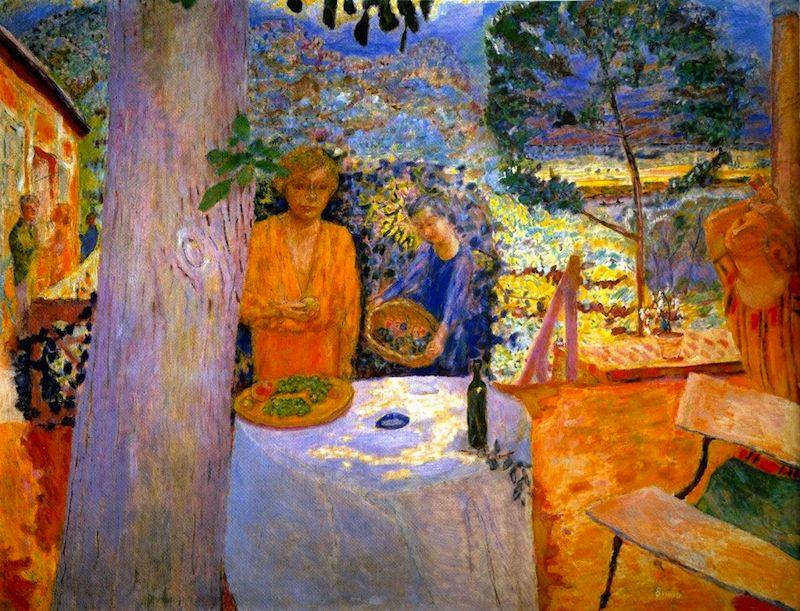 Pierre Bonnard. La Terrasse à Vernon, 1920-1939