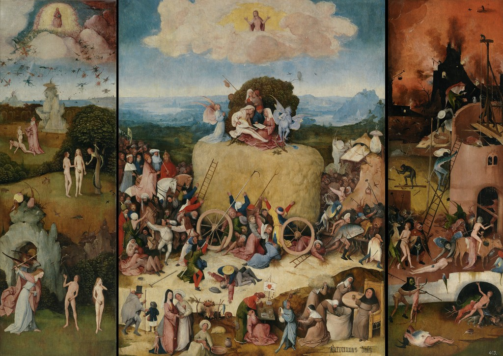 El Bosco. El carro de heno, 1510-1516