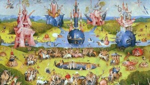 El Bosco. El jardín de las delicias, hacia 1503