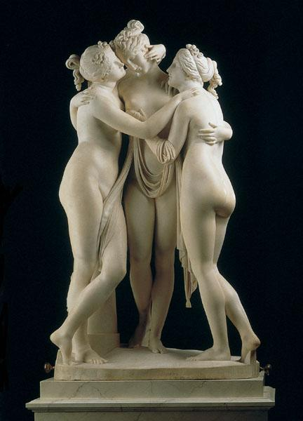 Antonio Canova. Las Tres Gracias, 1815-1817