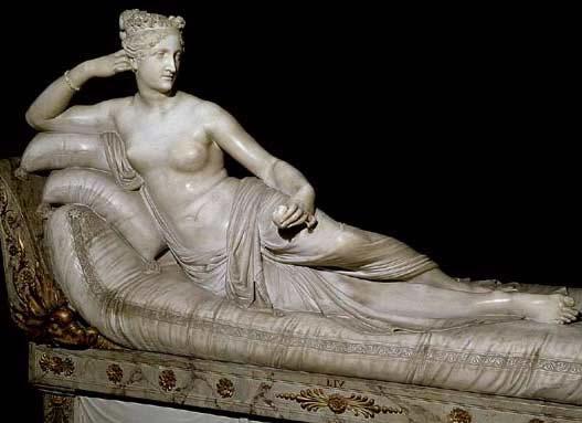 Canova. Paulina Bonaparte como Venus victoriosa, 1804-1808