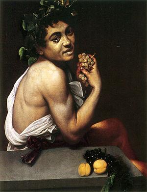 Caravaggio. Baco enfermo, 1593-1594