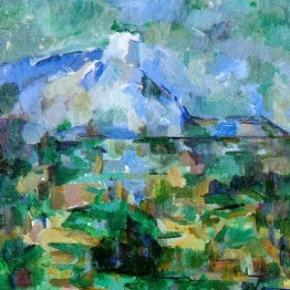 Cézanne contra lo provisional