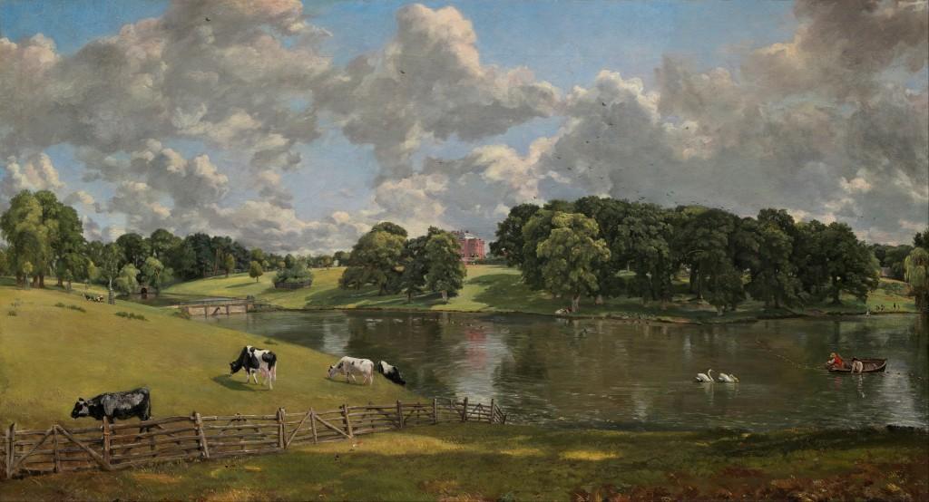 Constable. Wivenhoe Park, Essex, 1816