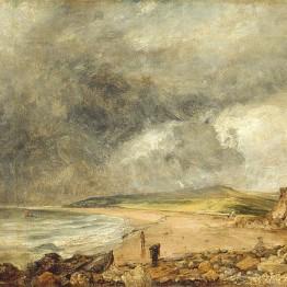 Constable. Bahía de Weymouth, 1819