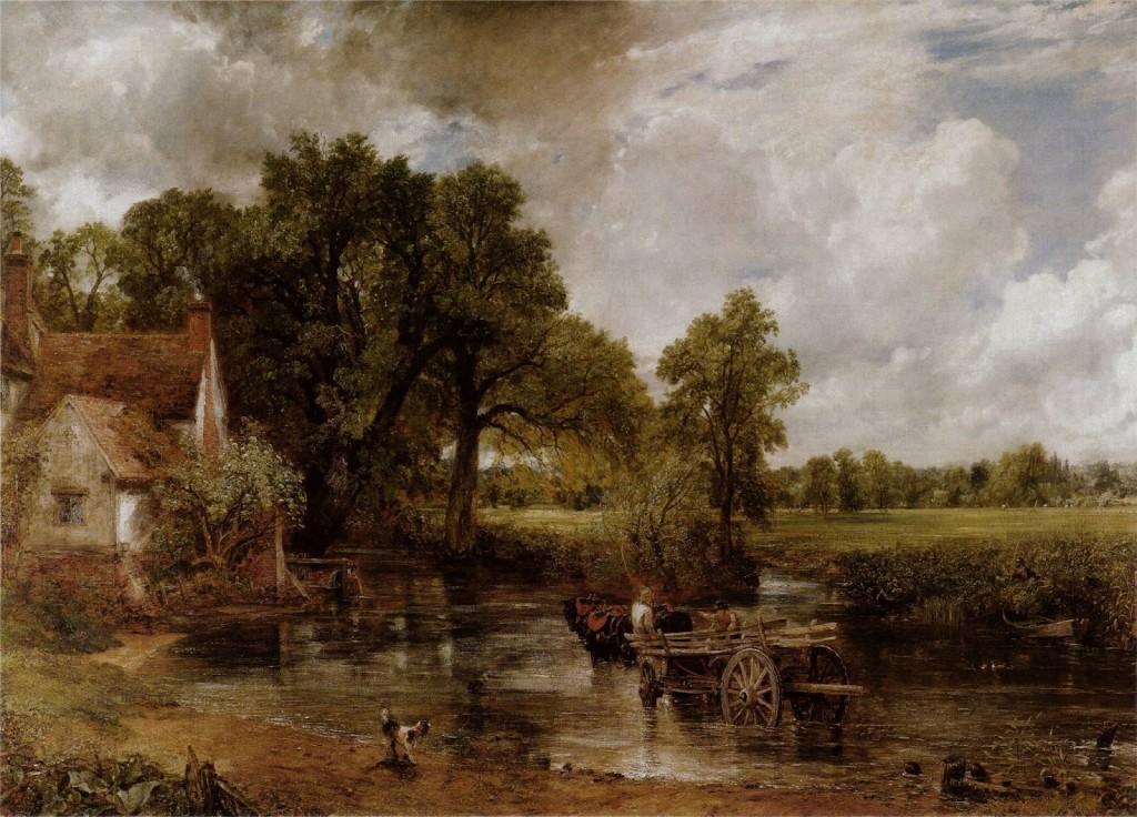 Constable. El carro de heno, 1821