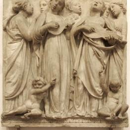 Cantoría sobre la Puerta Norte del Duomo florentino