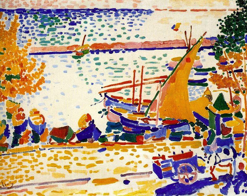 Derain. Puerto de Collioure, 1905