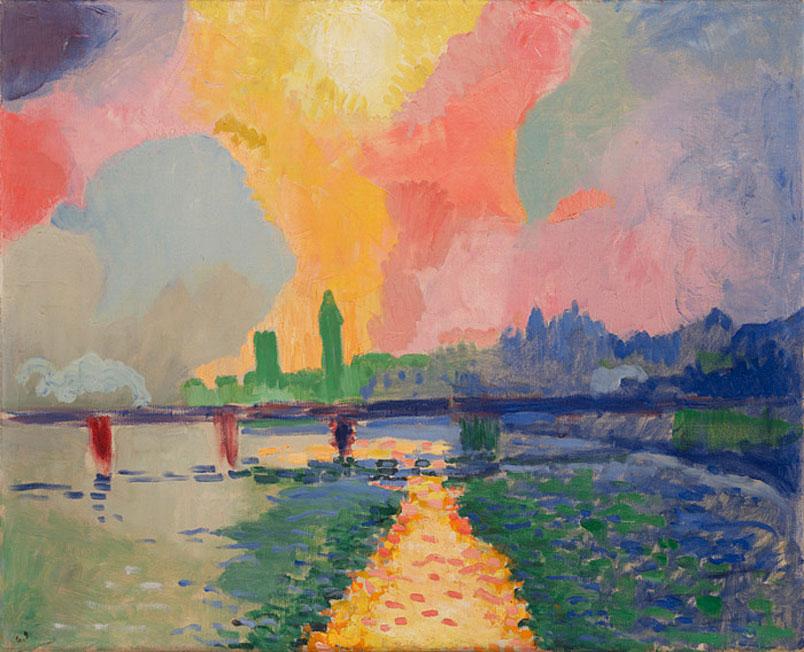 Derain. Puente de Charing Cross, 1906