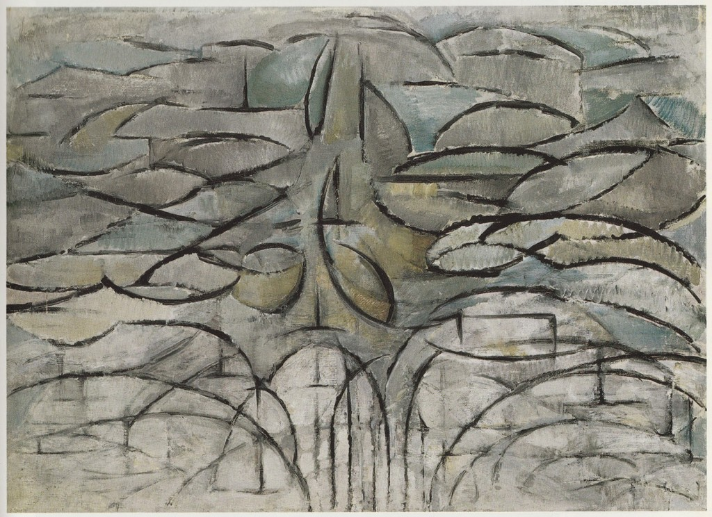 Piet Mondrian. Bloeiende Appelboom (Flowering Apple Tree), 1912