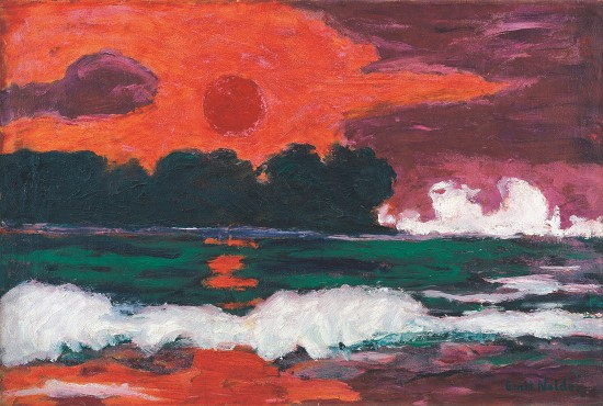 Emil Nolde. Tropical Sun, 1914