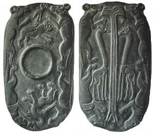 Placas de pizarra predinásticas. Museo del Louvre