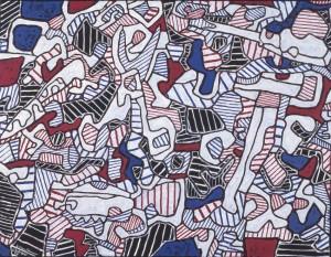 Jean Dubuffet. Société d'outillage, 1964