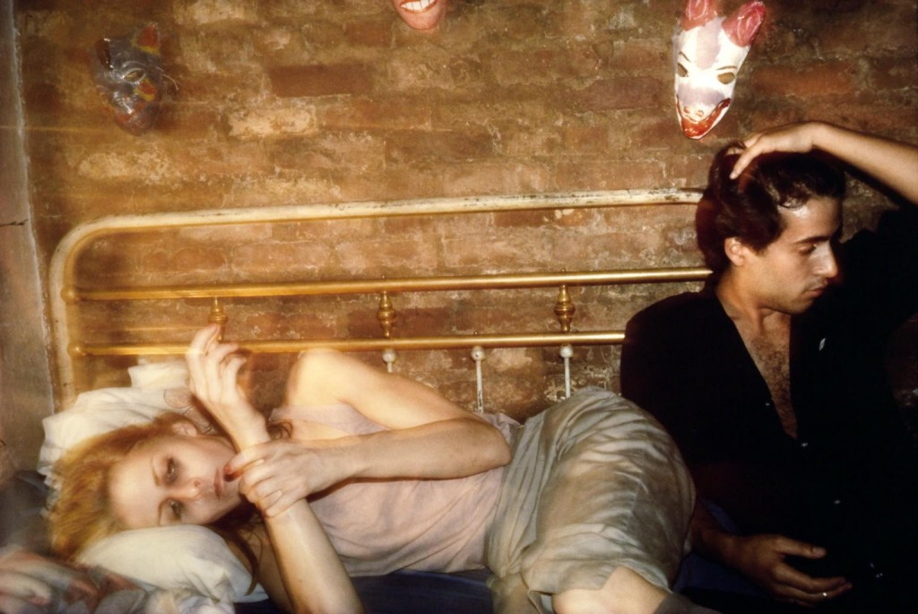 Nan Goldin. Greer and Robert on the bed, NYC, 1982. Tate