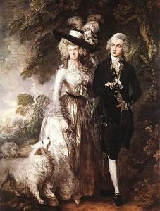 Thomas Gainsborough. Paseo matinal, 1785