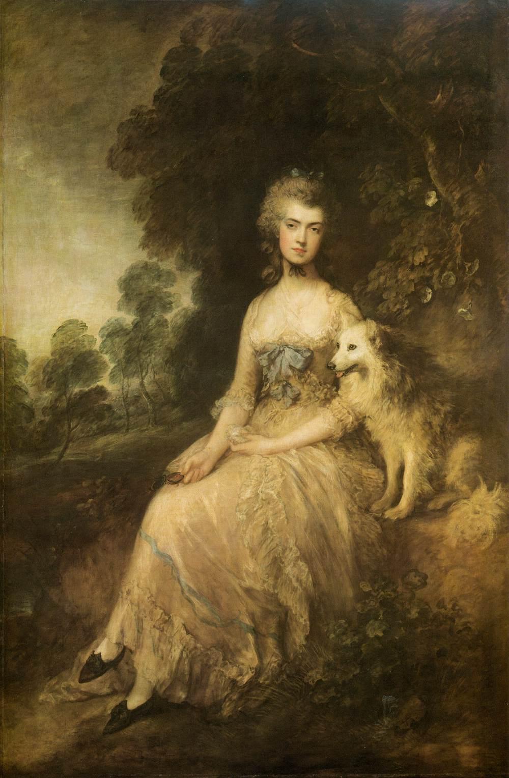 "Thomas Gainsborough. Mrs. Mary Robinson, ""Perdita"", 1781"