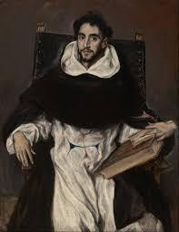 El Greco. Fray Hortensio Félix Paravicino y Arteaga, hacia 1609. MFA Boston